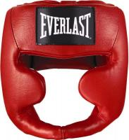 Шлем Martial Arts Leather Full Face S/M красн. (арт. 7620SMU)