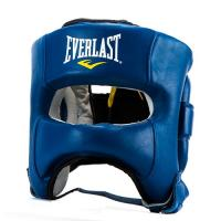 Шлем Elite Leather LXL син. (арт. P00000681 LXL BL)
