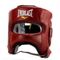 Шлем Elite Leather ML красн. (арт. P00000681 ML RD)