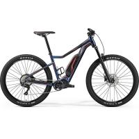 Велосипед Merida eBig.Trail 500 MetallicBlue/Black/Red 2019 L(49cm)